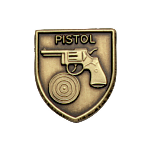 Medal Insert - Pistol (Gold)