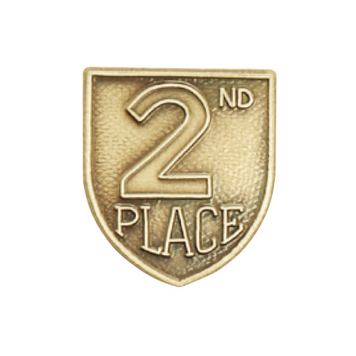 Medal Insert - 2nd Place (Gold)