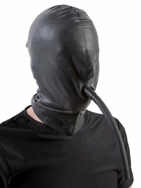 Hood with Breathing Tube