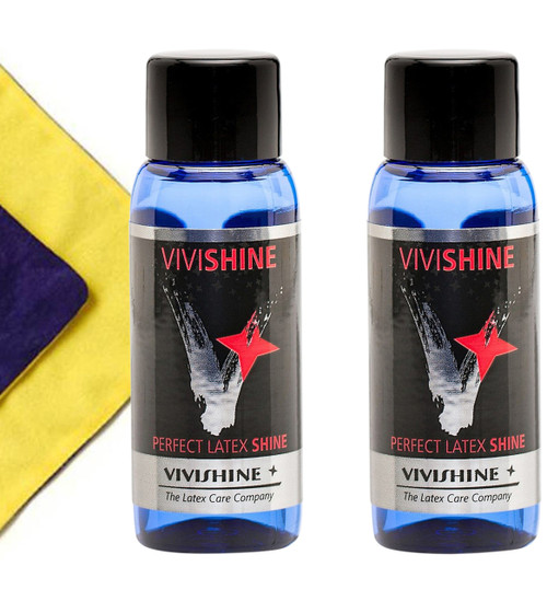 Vivishine 30ml 2 pak and Viviwipe