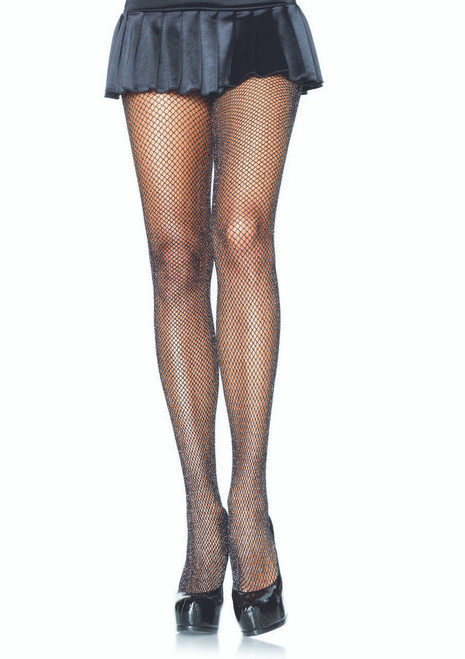 Tights Fishnet with Glitter