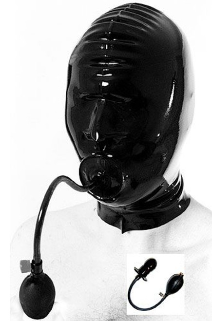 Hood with Pump Up Plug and Nose holes