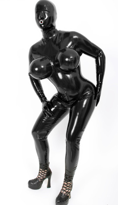 Catsuit Inflatable Breast Female