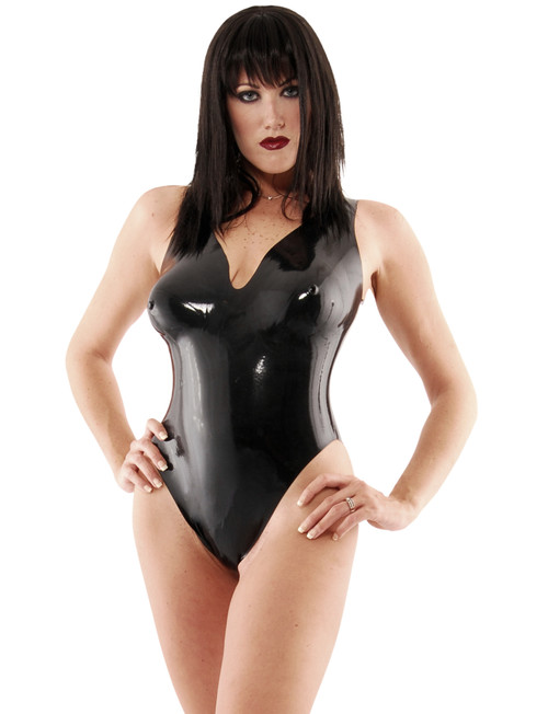 Bodysuit High Legs Molded Cups and Thong Back