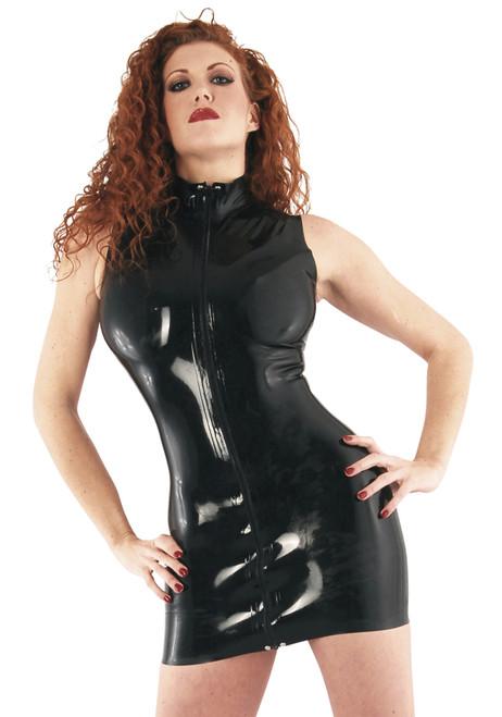 Polo Dress - Large - Black