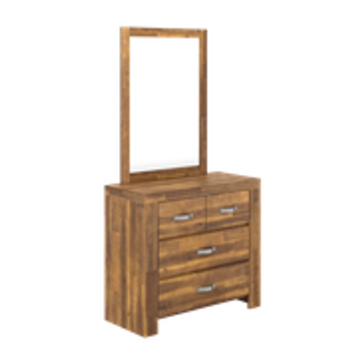 DRESSER WITH MIRROR ( ALBANA COLLECTION)
