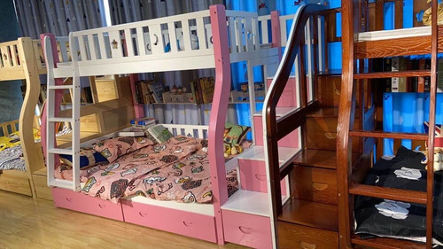 KIDS BUNK BED WITH STORAGE DRAWERS (NO SLIDES)- PRE ORDER NEXT RELEASE DATE IS 24 JULY 2021
