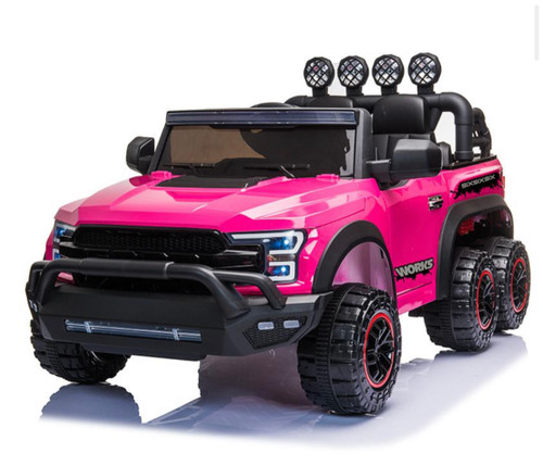 NEW SIX WHEEL PINK FORD TRUCK JUST ARRIVED