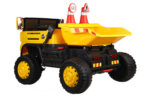SOLD OUT - Kids Ride On Dump Tip Truck Electric Bulldozer 12V