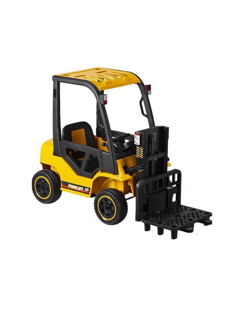 12V Forklift Electric Ride On Car - Yellow