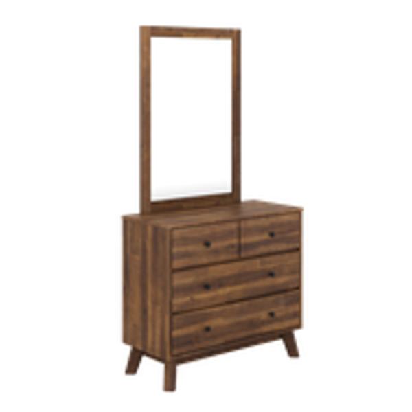 Dresser dimensions: 96 x 42 x 103cm Mirror dimensions: 72x 2 x 100cm