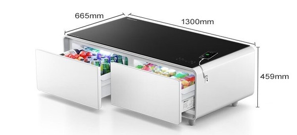 SMART COFFEE TABLE WITH INBUILT  FRIDGE - SOLD OUT- THIS ITEM IS FOR PRE-ORDER AND NEXT SHIPMENT WILL BE MAY