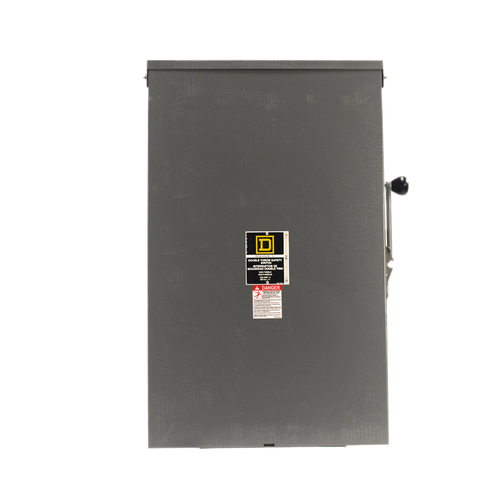 Square D - 82344RB- Double Throw Non-Fuse Disconnect | 200 Amp 3R