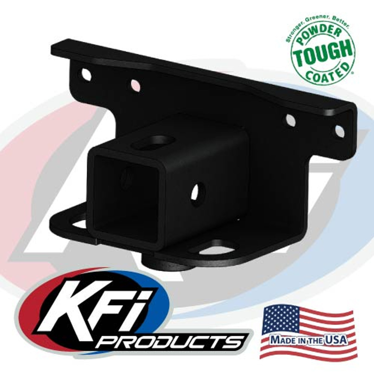 "KFI Products 2/"" ATV Receiver Hitch Rear 100745"