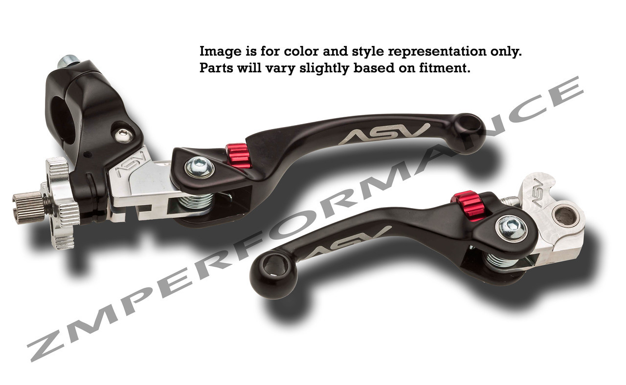 newton manufacturer Brake lever atv//vtc 4 fingers alu for v-brake pair