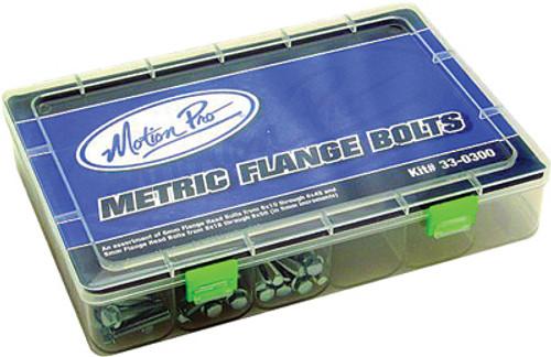 Metric Flange Head Bolts Hardware Kit 150 Pcs