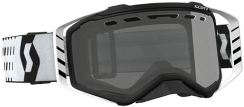 Prospect Enduro Goggle Black/White W/Grey Lens