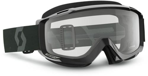 Split OTG Sand/Dust Goggle Black/White W/Grey Lens