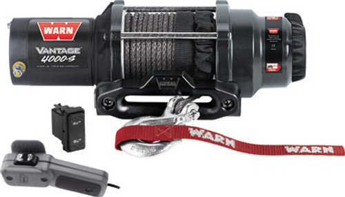Vantage 4000-S Winch W/Synthetic Rope