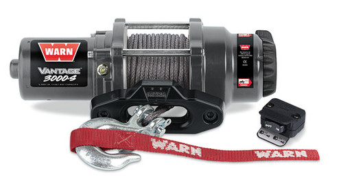 Vantage 3000-S Winch W/Synthetic Rope