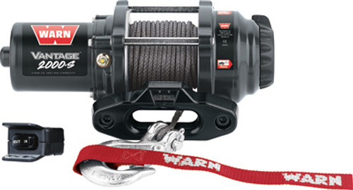Vantage 2000-S Winch W/Synthetic Rope