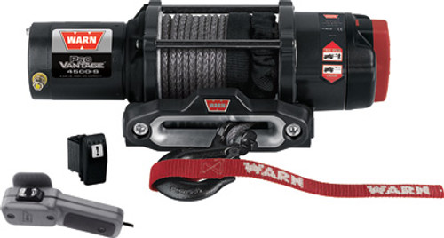 Provantage 4500-S Winch W/Synthetic Rope
