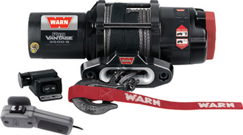 Provantage 3500-S Winch W/Synthetic Rope