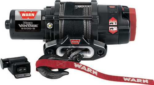 Provantage 2500-S Winch W/Synthetic Rope