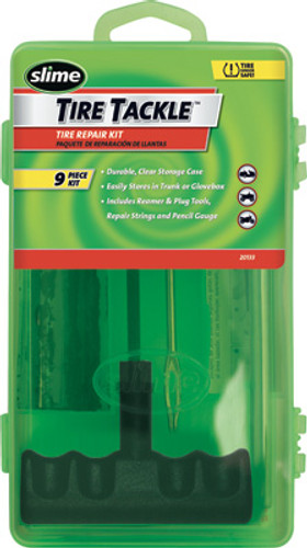 9/Pc Tire Tackle T-Handle W/Box