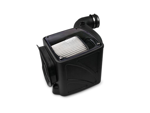 COLD AIR INTAKE FOR 2006-2007 CHEVY / GMC DURAMAX LLY-LBZ 6.6L (DRY EXTENDABLE FILTER) - 75-5080D