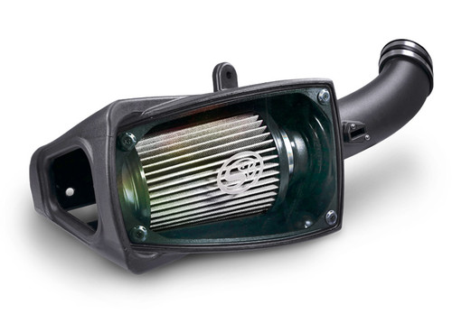 COLD AIR INTAKE FOR 2011-2016 FORD POWERSTROKE 6.7L (DRY EXTENDABLE FILTER) - 75-5104D