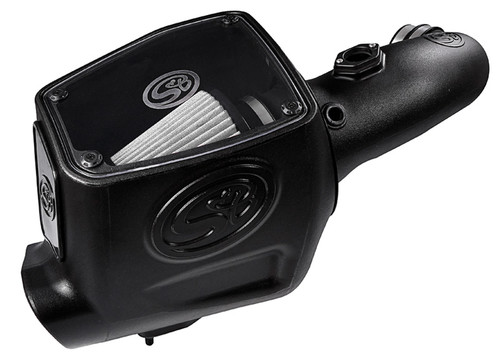 COLD AIR INTAKE FOR 2008-2010 FORD POWERSTROKE 6.4L (DRY EXTENDABLE FILTER) - 75-5105D