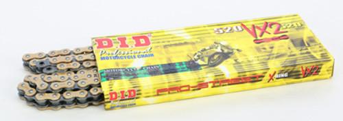 Pro-Street 520VX2 X-Ring Gold Chain