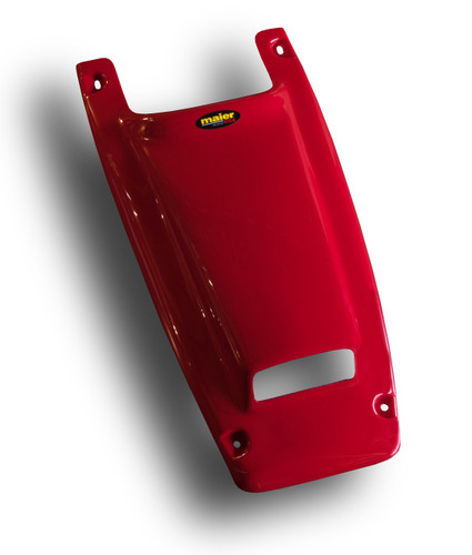HONDA TRX250R,TRX 250R 86-89 FRONT FENDER RED VENTED SCOOPED HOOD COVER