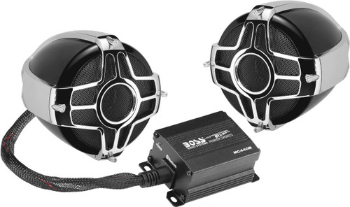 BLUETOOTH 600 WATTS MAX POWER ALL-TERRAIN SPEAKER AND AMPLIFIER SYSTEM