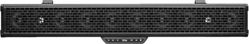 """700 W MAX POWER 34"""" AMPLIFIED SOUND BAR FEATURING BUILT-IN CLASS D AMPLIFIER, EXTERNAL BLUETOOTH CONTROLLER AND BUILT-IN DOME LIGHT"""