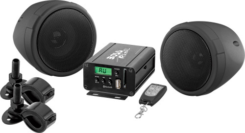 BLUETOOTH®   600 WATTS MAX POWER ALL-TERRAIN SPEAKER AND AMPLIFIER SYSTEM