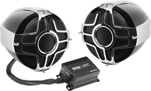 BLUETOOTH 1000 WATTS MAX POWER ALL-TERRAIN SPEAKER AND MPLIFIER SYSTEM