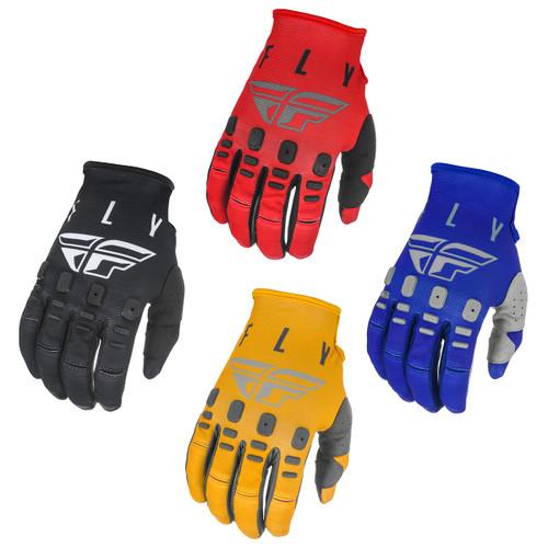Kinetic K121 Youth Motocross MX Riding Gloves