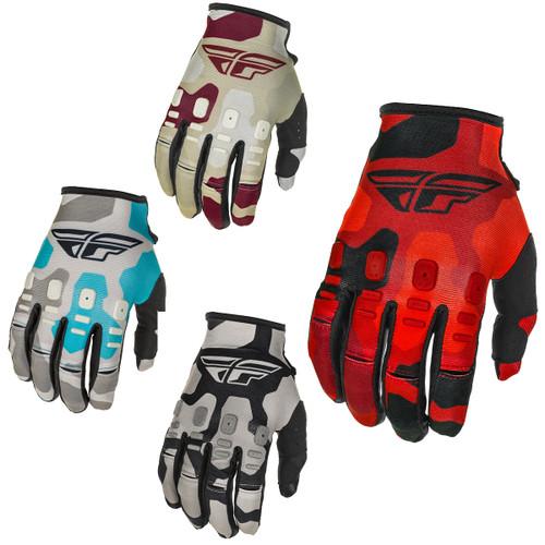 Kinetic K221 Youth Motocross MX Gloves