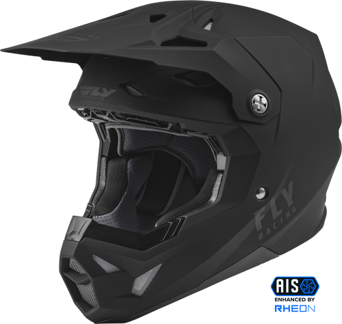 2022 ADULT FORMULA CP SOLID MATTE BLACK MX ATV HELMET