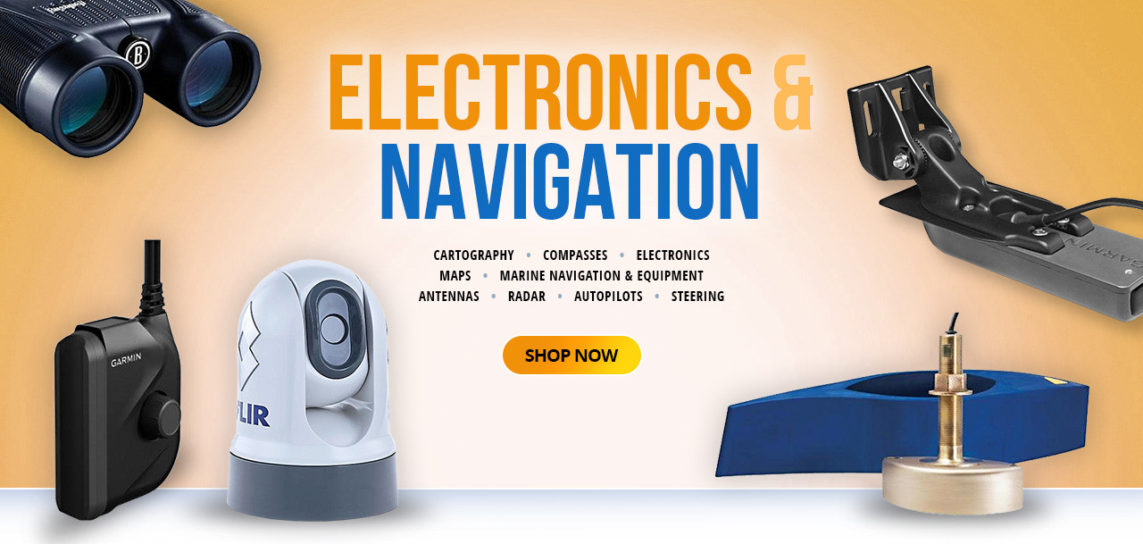 Electronics and Navigation Banner