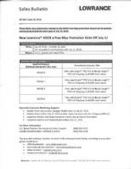 Lowrance Sales Bulletin