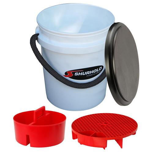 Shurhold One Bucket Kit - 5 Gallon - White