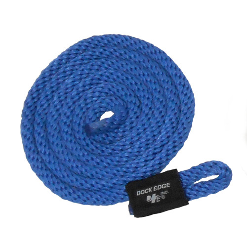 Dock Edge Fender Line - 3/8 x 5' - Royal Blue - 2-Pack