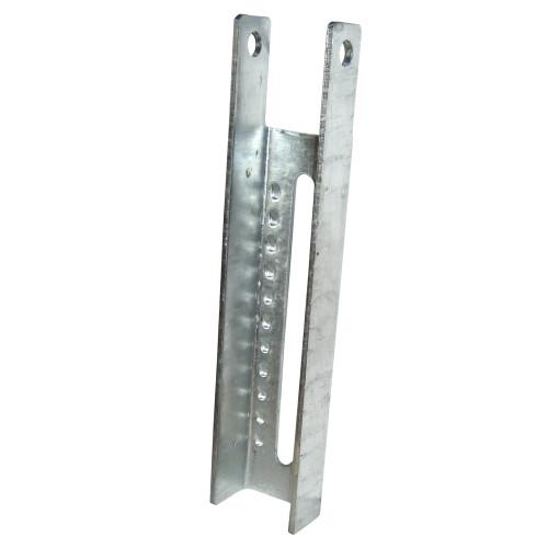 C.E. Smith Vertical Bunk Bracket Lanced - 9-1/2