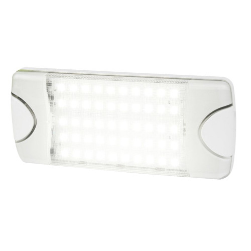 Hella Marine DuraLED 50 Low Profile Interior/Exterior Lamp - White LED Spreader Beam