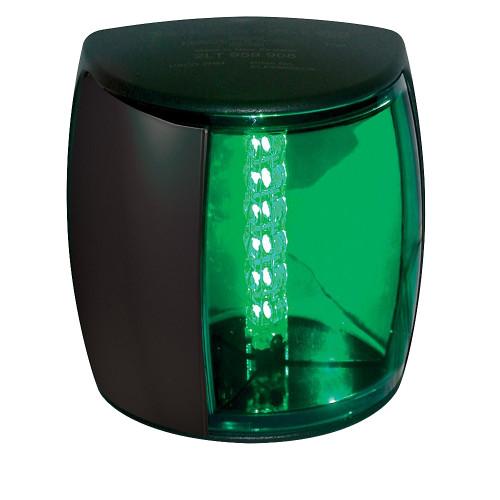 Hella Marine NaviLED PRO Port Navigation Lamp - 3nm - Green Lens/Black Housing