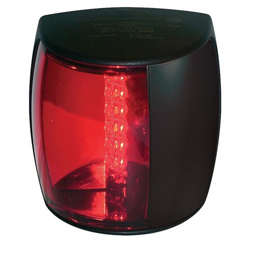 Hella Marine NaviLED PRO Port Navigation Lamp - 3nm - Red Lens/Black Housing