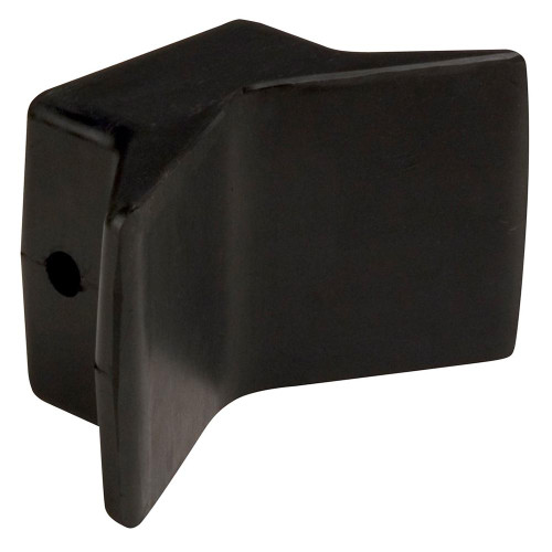 C.E. Smith Bow Y-Stop - 4 x 4 - Black Natural Rubber